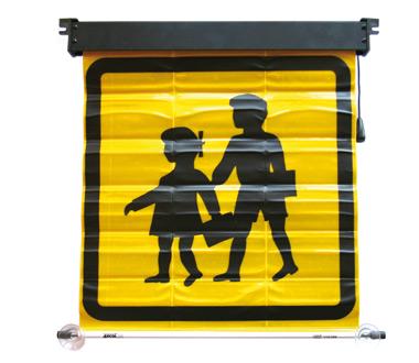 School Transport Sign Big SPAIN