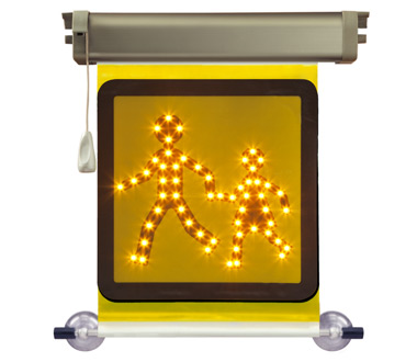 School Transport Sign LED