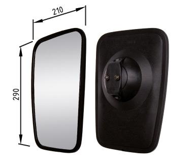 Dimensions Mirror 270