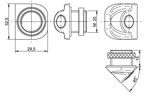 Dimensions Mod. C-45H